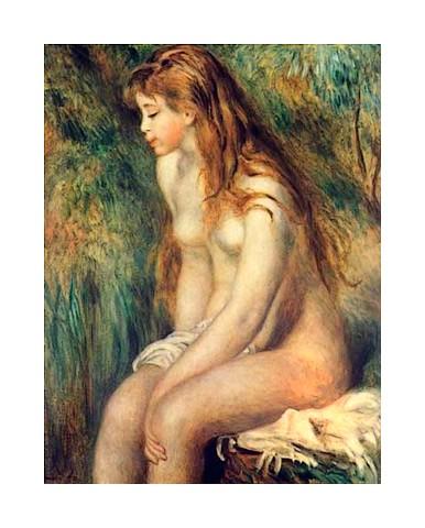 33 baigneuse Pierre Auguste Renoir (7)