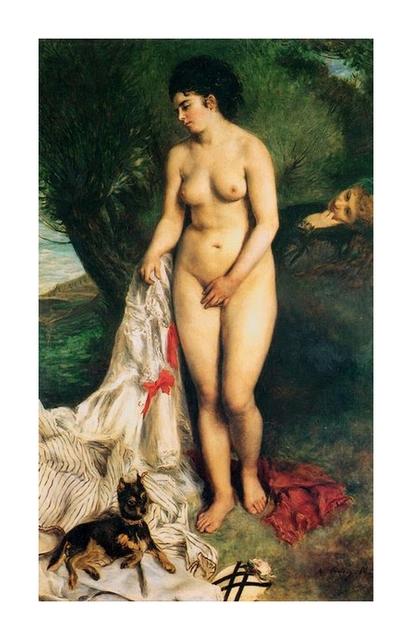 36 baigneuse Pierre Auguste Renoir (2)