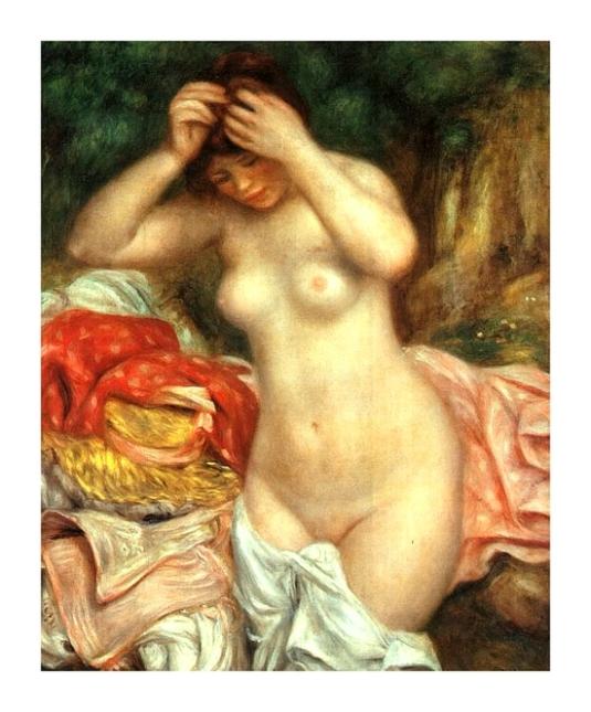 36 baigneuse Pierre Auguste Renoir (3)
