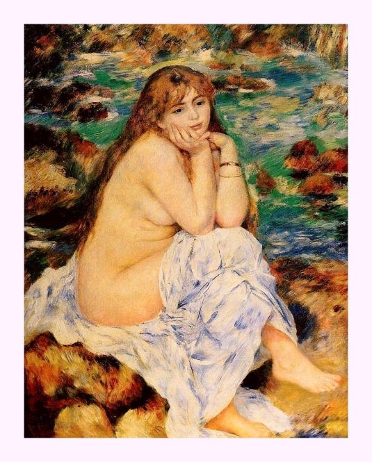 37 Renoir au bord eau