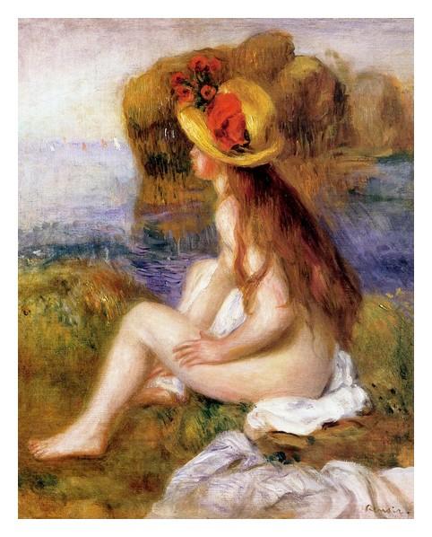 45 Renoir nu au chapeau