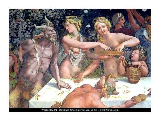 Banquet d'Amour et Psyché (détail) *