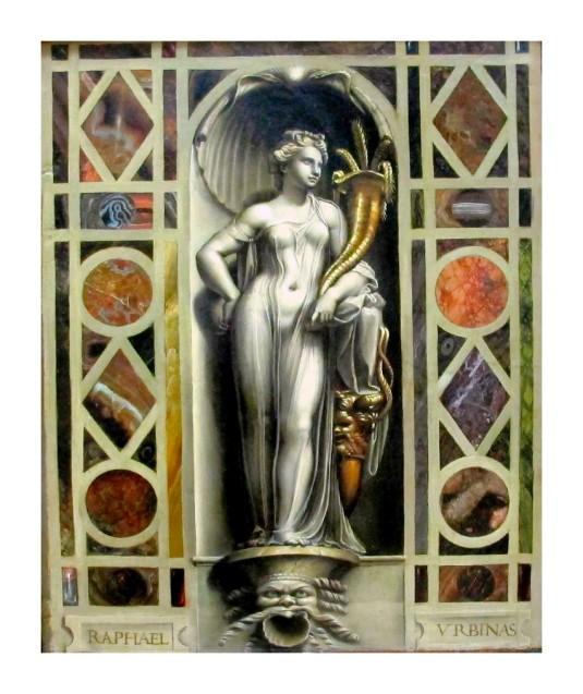 L'abondance attribué à Giulio romano (atelier de Raphael)