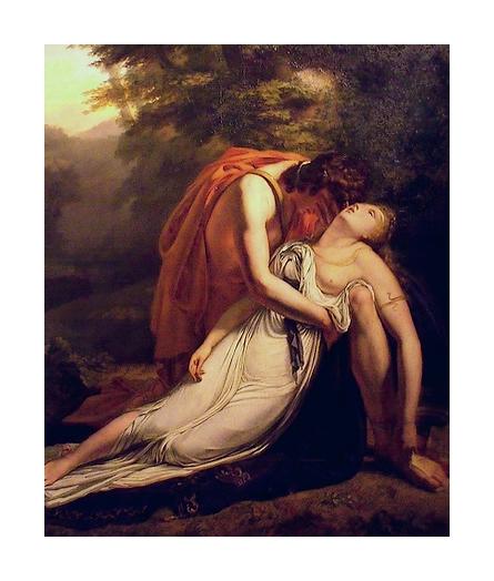 La mort d'Eurydice
