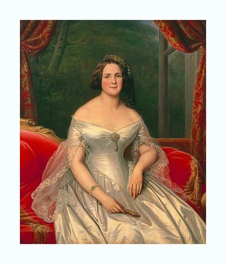 Portrait d'une aristocrate *