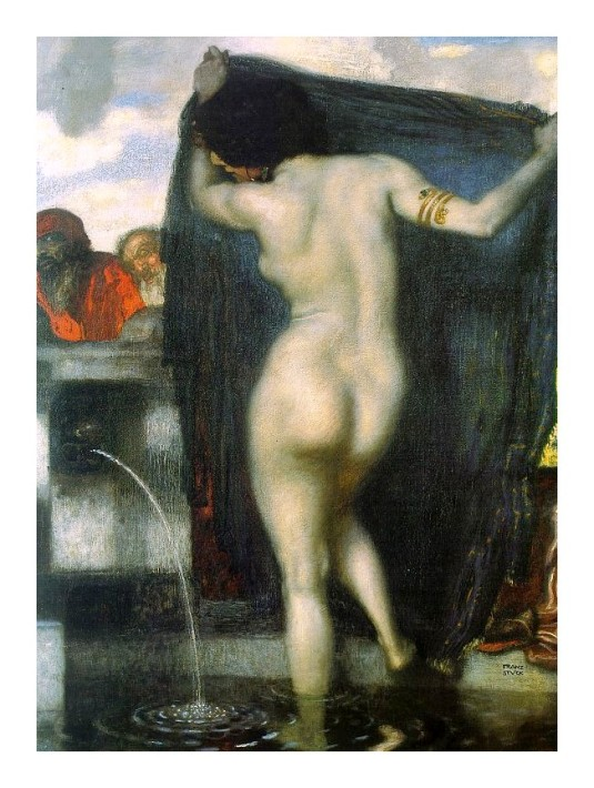 Suzanne au bain *