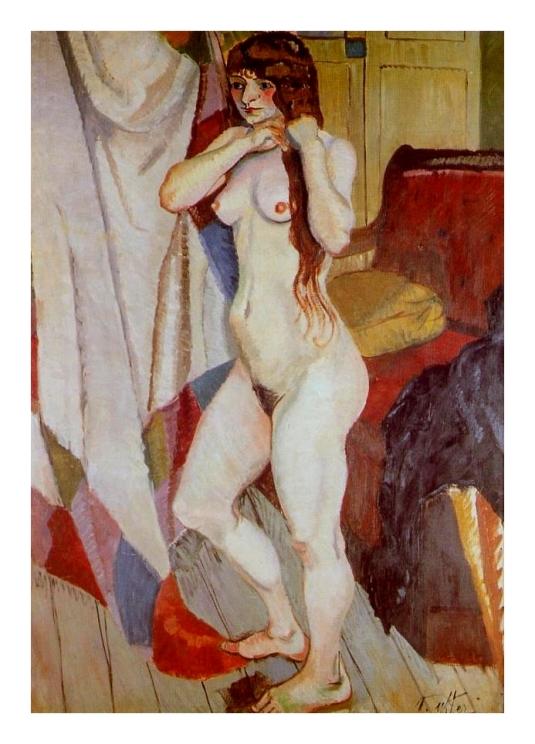 Suzanne Valadon peint par Andre Utter (son mari)