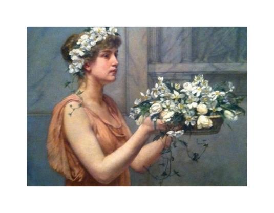 Corbeille de fleurs *