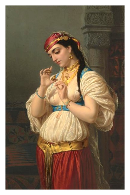 Jeune egyptienne *