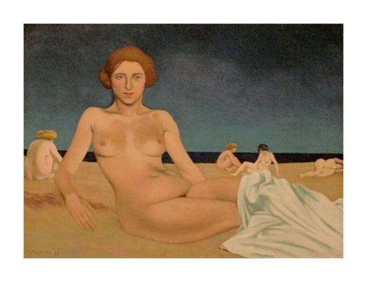 Sur la plage *