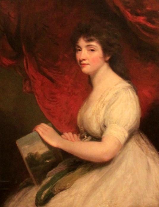 Mrs Linwood Marie Linwood (1755-1845) était une couturière qui a exposé sa broderie et ses tapisseries  à Leicester et Londres, et était la maîtresse de l'école d'une école privée plus tard connu sous le nom de Marie Linwood Comprehensive School  *