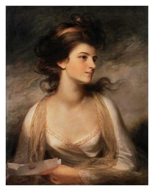 Lady avec une lettre *