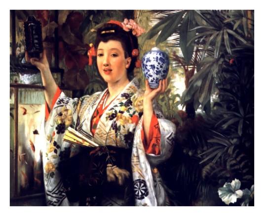 Le vase japonais