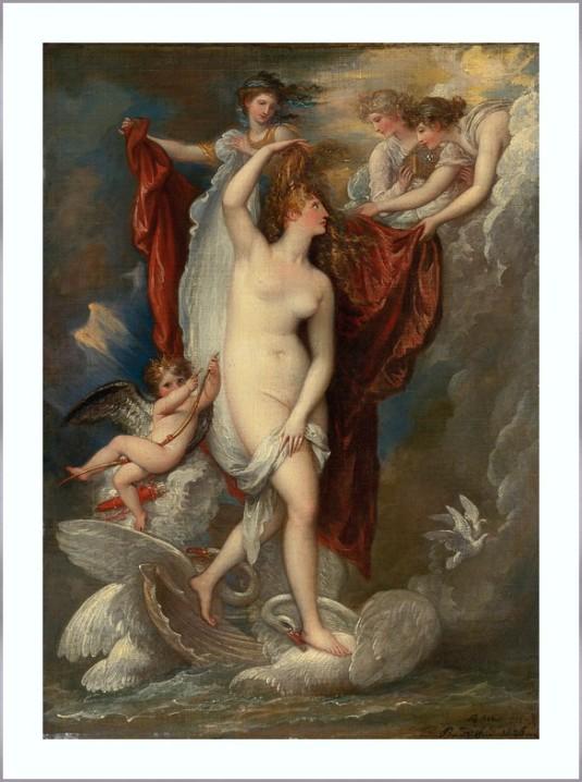 16 Benjamin West Venus)