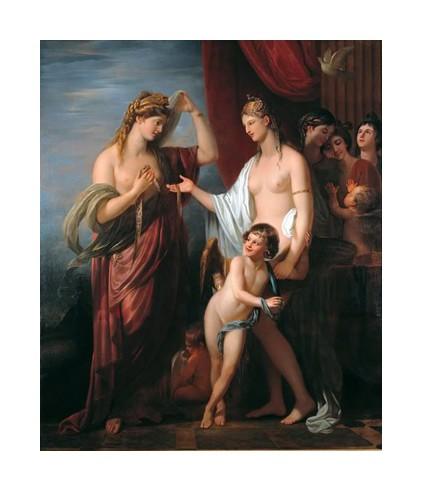 17 Junon recoit le Cestus de Venus