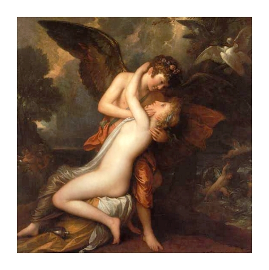 20 Benjamin West Cupidon et Psyche[1]
