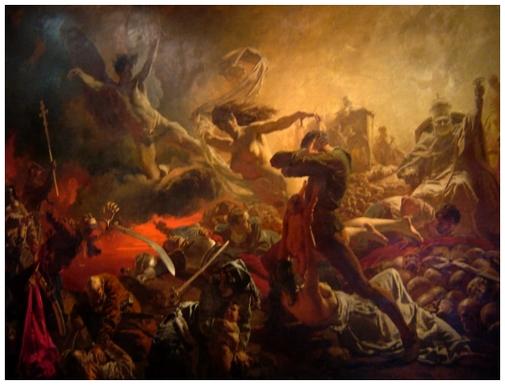 Le triomphe du Génie de la Destruction, 1878 *