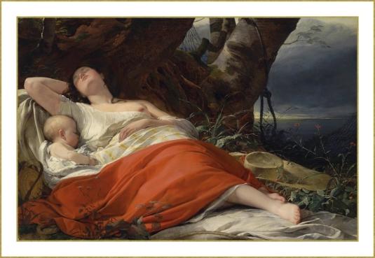 10 Friedrich_von_Amerling endormie apres la peche