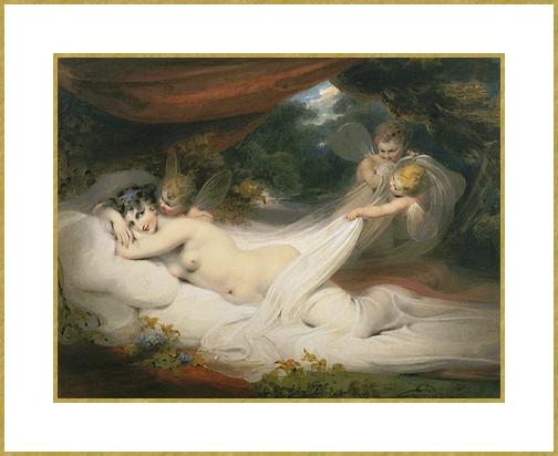 Nymphe dénudée *