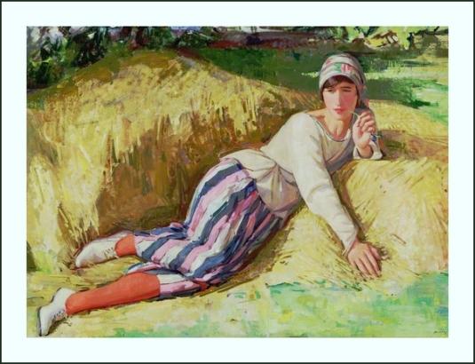 19 portrait artiste par Dorothy Johnstone