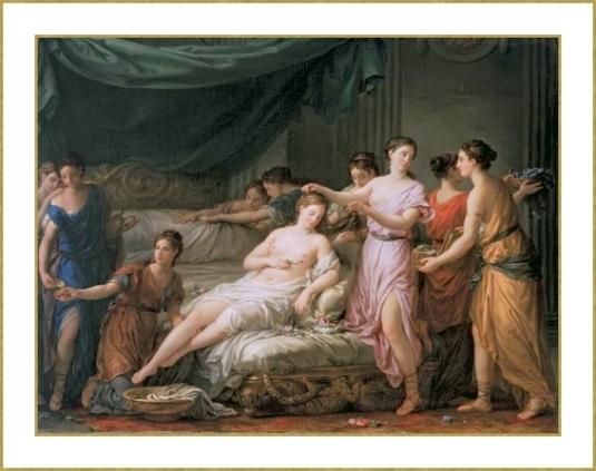 La Toilette de la jeune mariée dans l'antiquité *