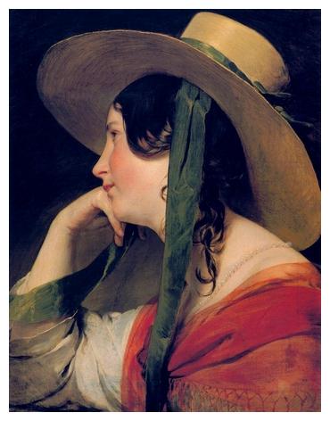 La dame au chapeau de paille *