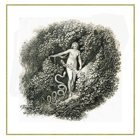 Eve et le serpent *