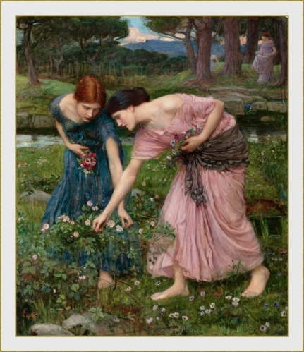 77 John_William_Waterhouse cueillette  (1)