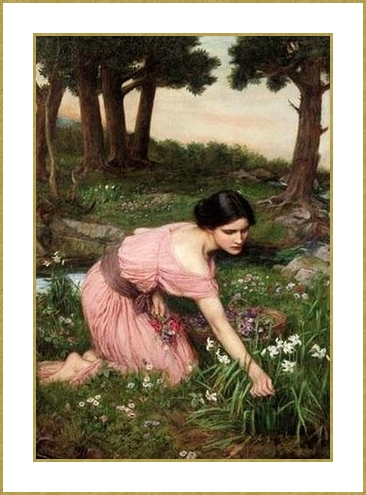 77 John_William_Waterhouse cueillette  (2)