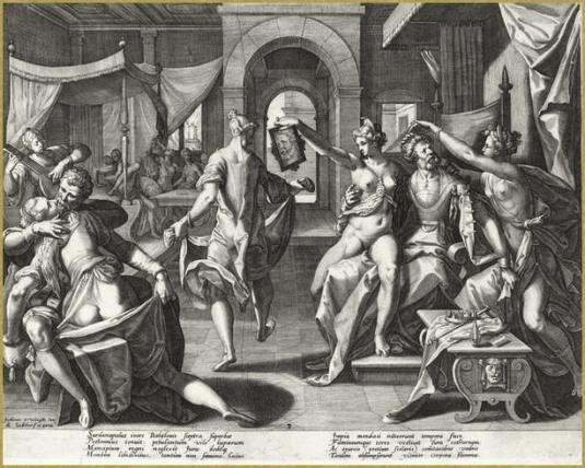 78 sardanapal et ses concubines d apres winghe