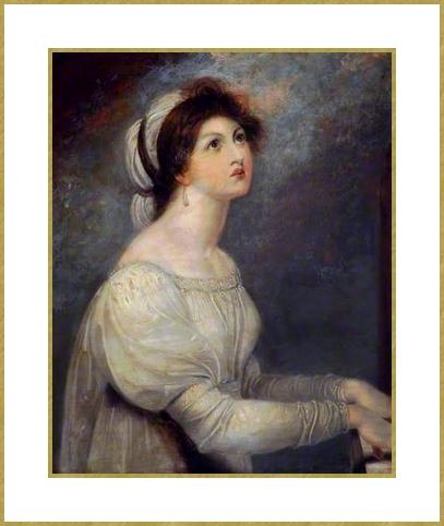 85 westall Lady Hamilton Sainte Cecile (1)