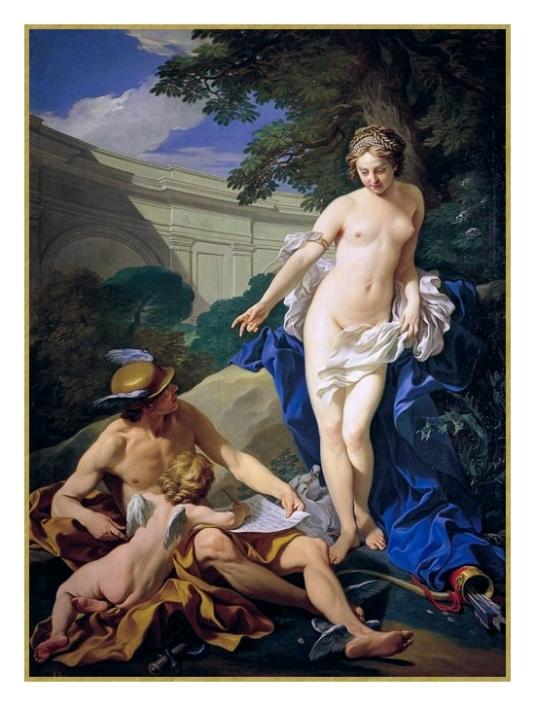 Vénus, Mercure et Cupidon