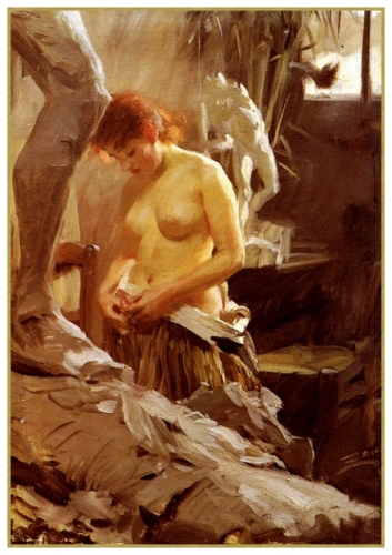 33 Anders Zorn le modele