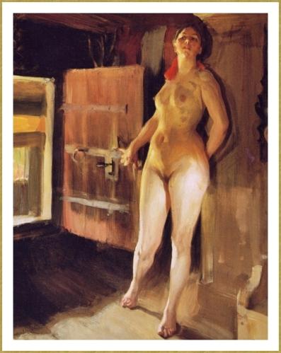 45 Zorn 1860 1920 Girl in the Loft