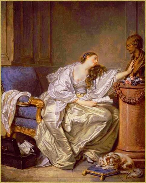 La veuve inconsolable.