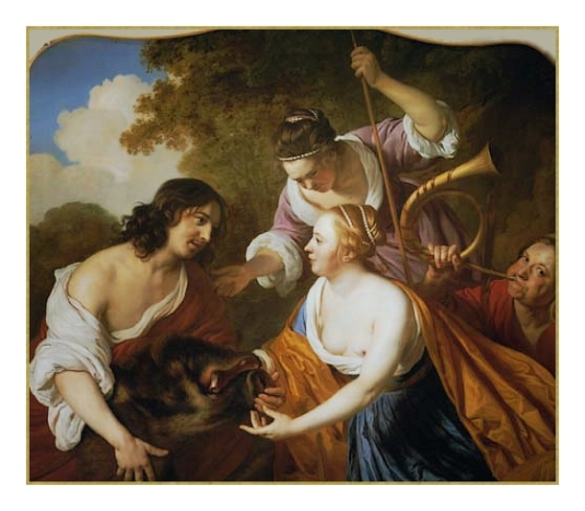 Meleager et Atalanta