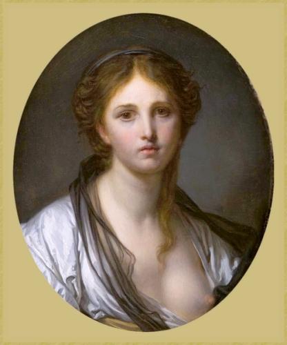 33 Greuze- 1725 1805 portrait