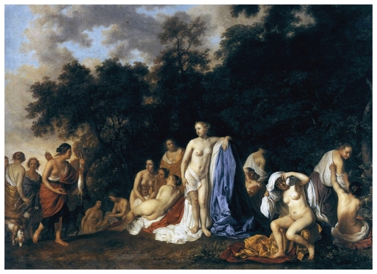 Diane et des Nymphes