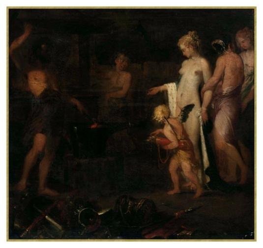 Vénus chez Vulcain Atelier de Jacob Van loo