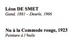 10 DE SMET Léon nu a la commode rouge  1 (3)