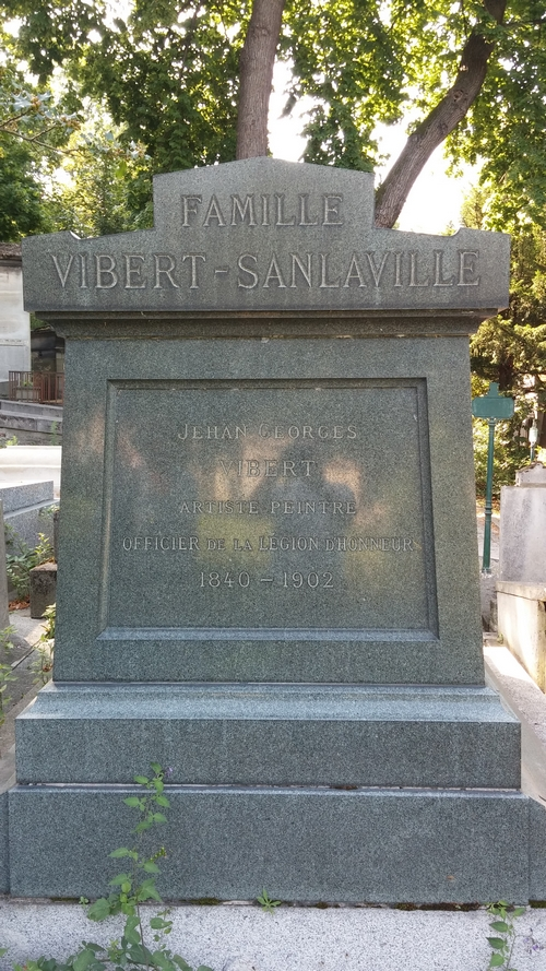 Sa tombe au Père Lachaise