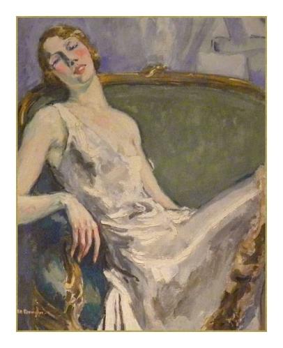 45 caen100418_051 Musee des Beaux Arts Van Dongen Portrait de Madame Marie Therese Raulet