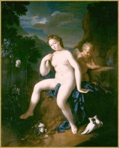44 adrian werff venus et cupidon (1)