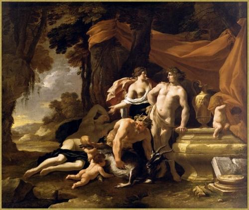 L'Union de Bacchus et Vénus