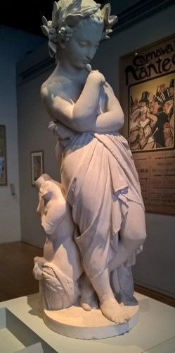 Le génie des arts, exemplaire au château de Nantes