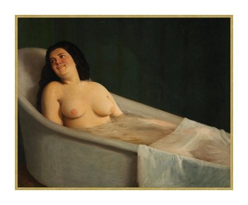 Dans le bain