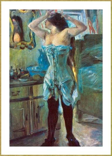 En corset *