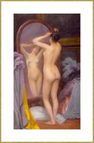 Devant le miroir *