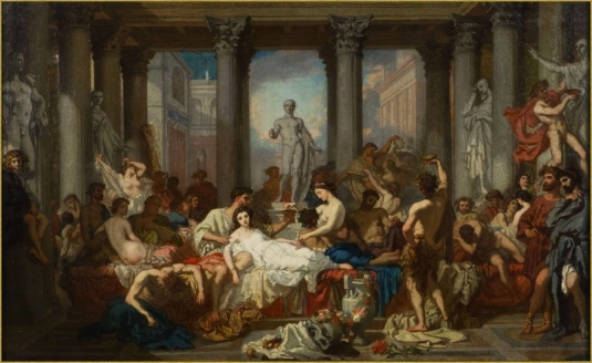 La décadence de Rome *