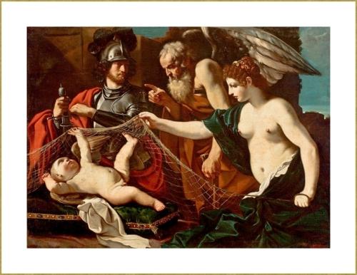 Vénus Mars Cupidon et le Temps